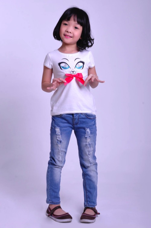 Girls Tshirts Made in Vietnam